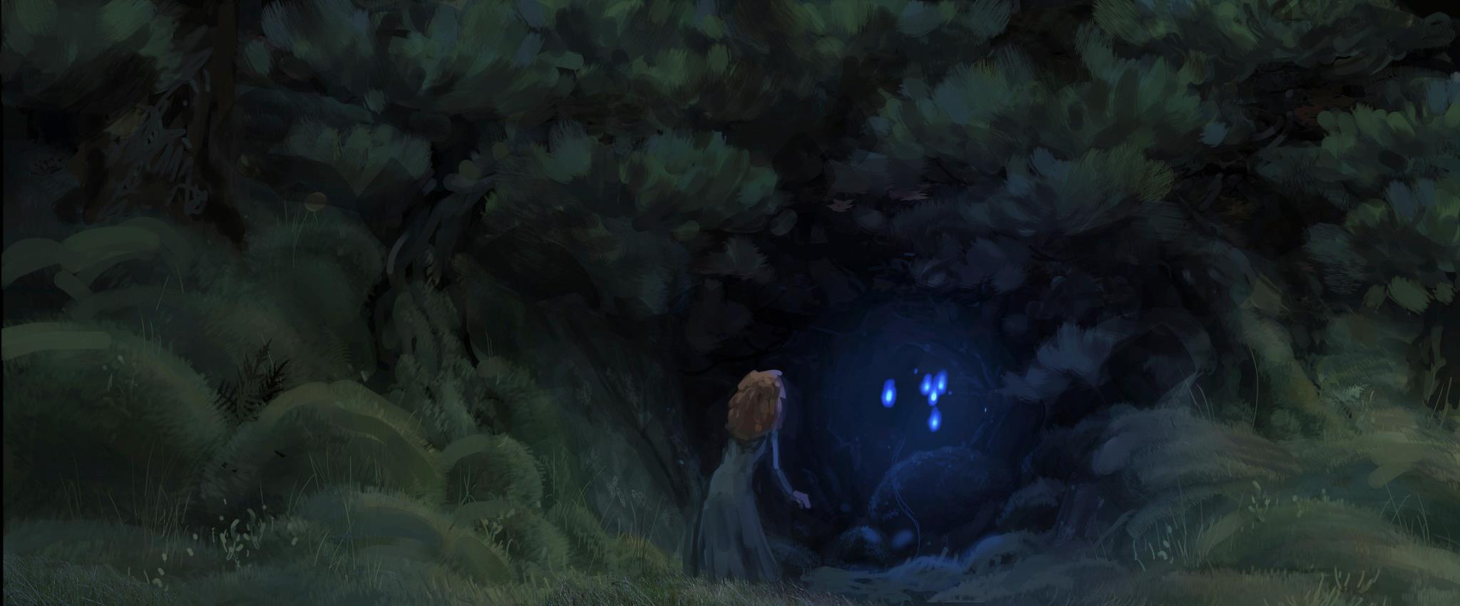 New 'Brave' Concept Art Features Mysterious Forest
