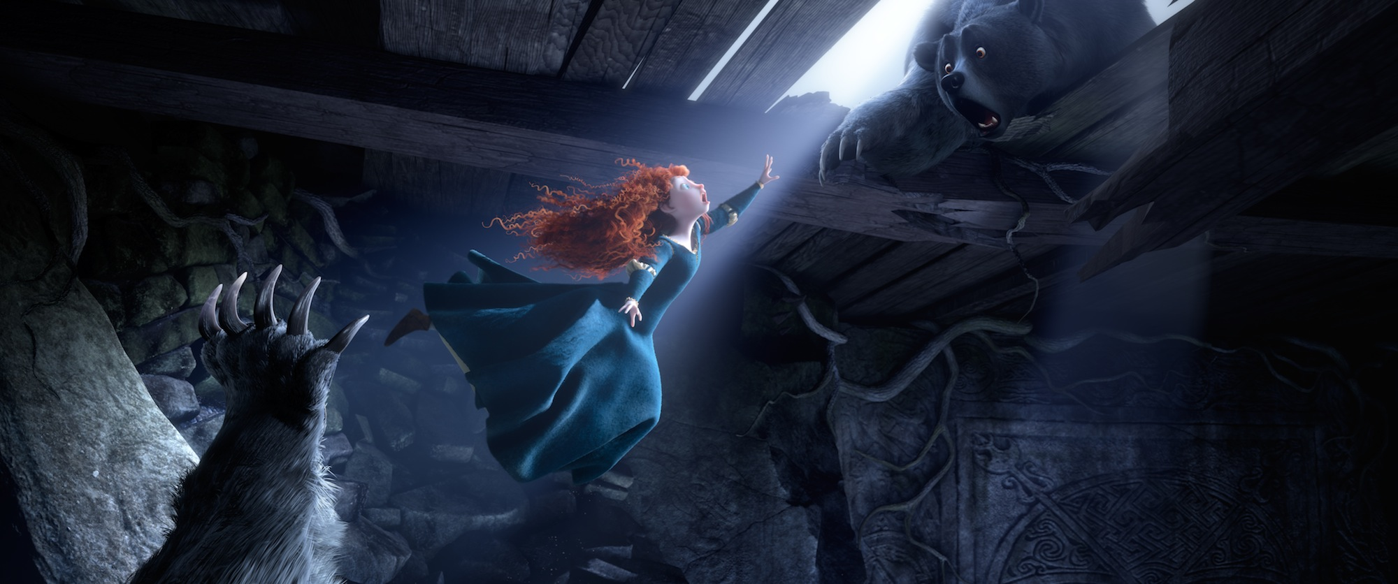 New 'Brave' Stills Feature Merida And A Few Bears