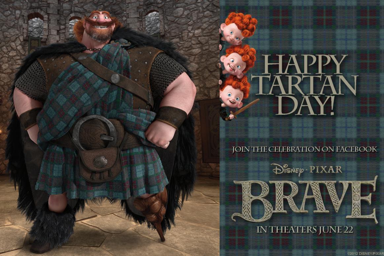 Celebrate National Tartan Day With 'Brave'
