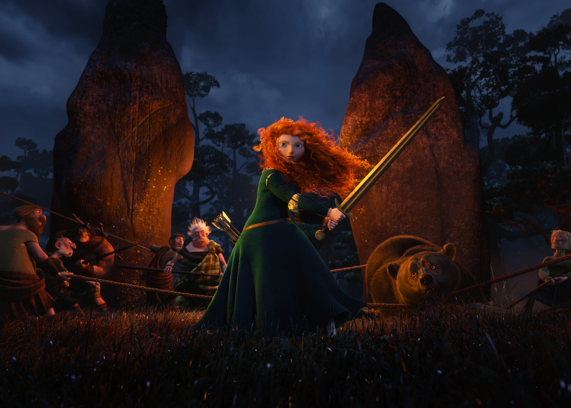 Merida Swings A Sword In New 'Brave' Stills