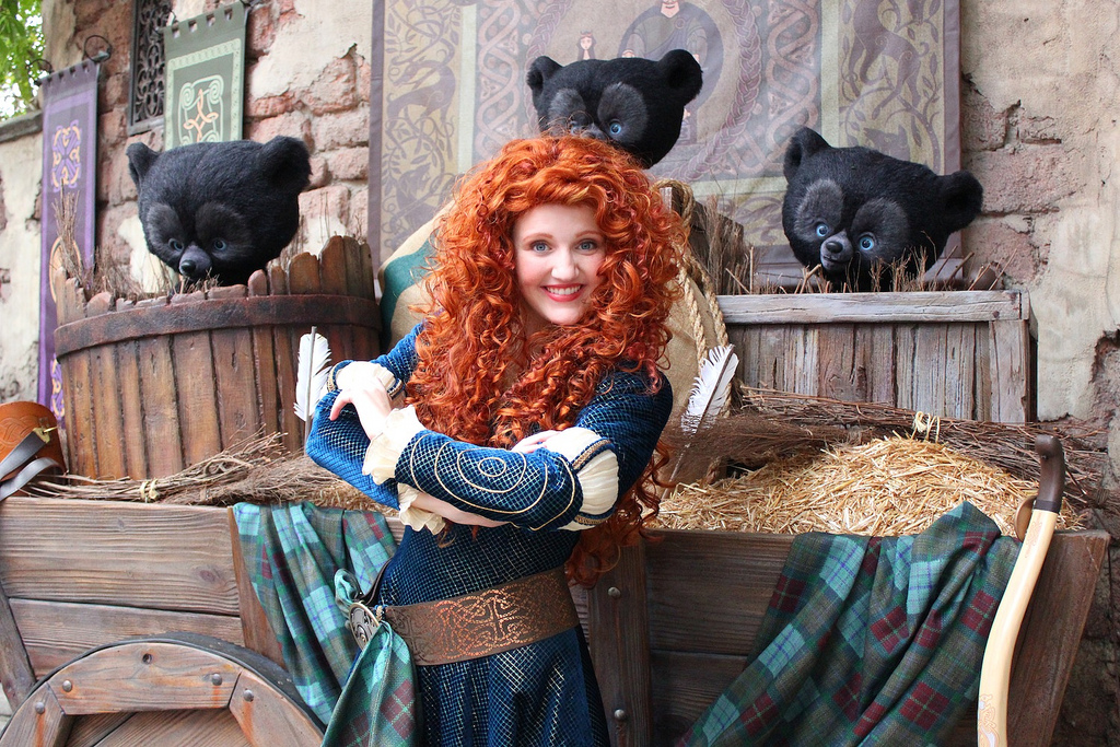 First Look: Merida Meet-and-Greet At The Magic Kingdom