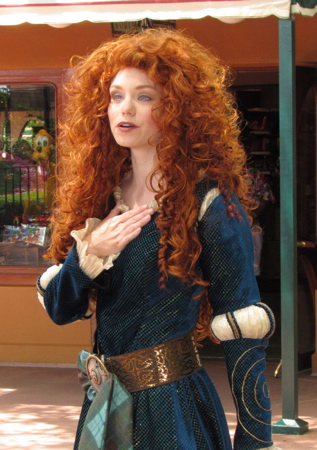 Brave's Merida Makes Her Disney World Debut At Epcot