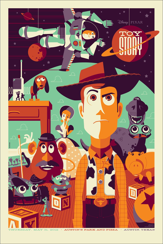 Mondo To Release Striking 'Toy Story' Poster Tomorrow