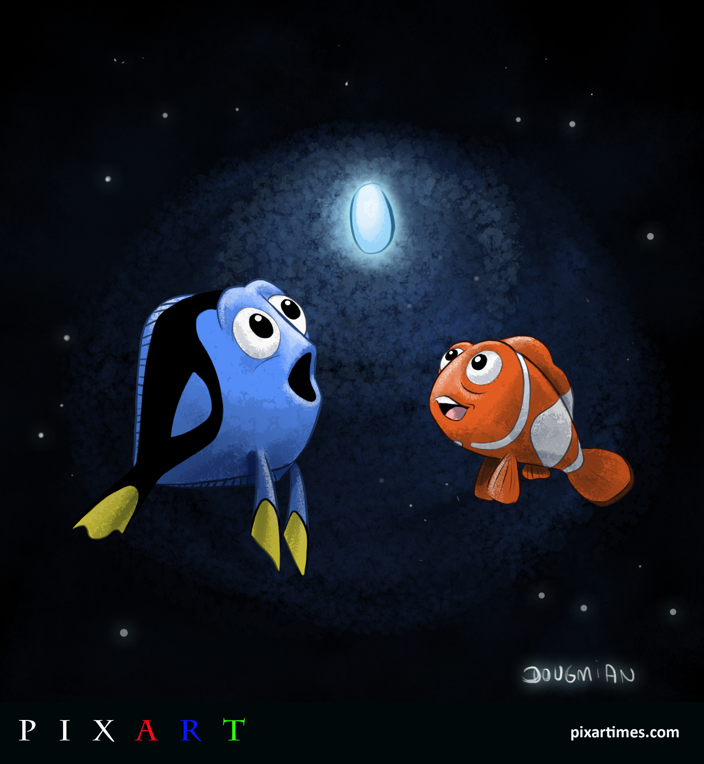 PixArt: May 2012 Feature I – Dory, Marlin, and the Light