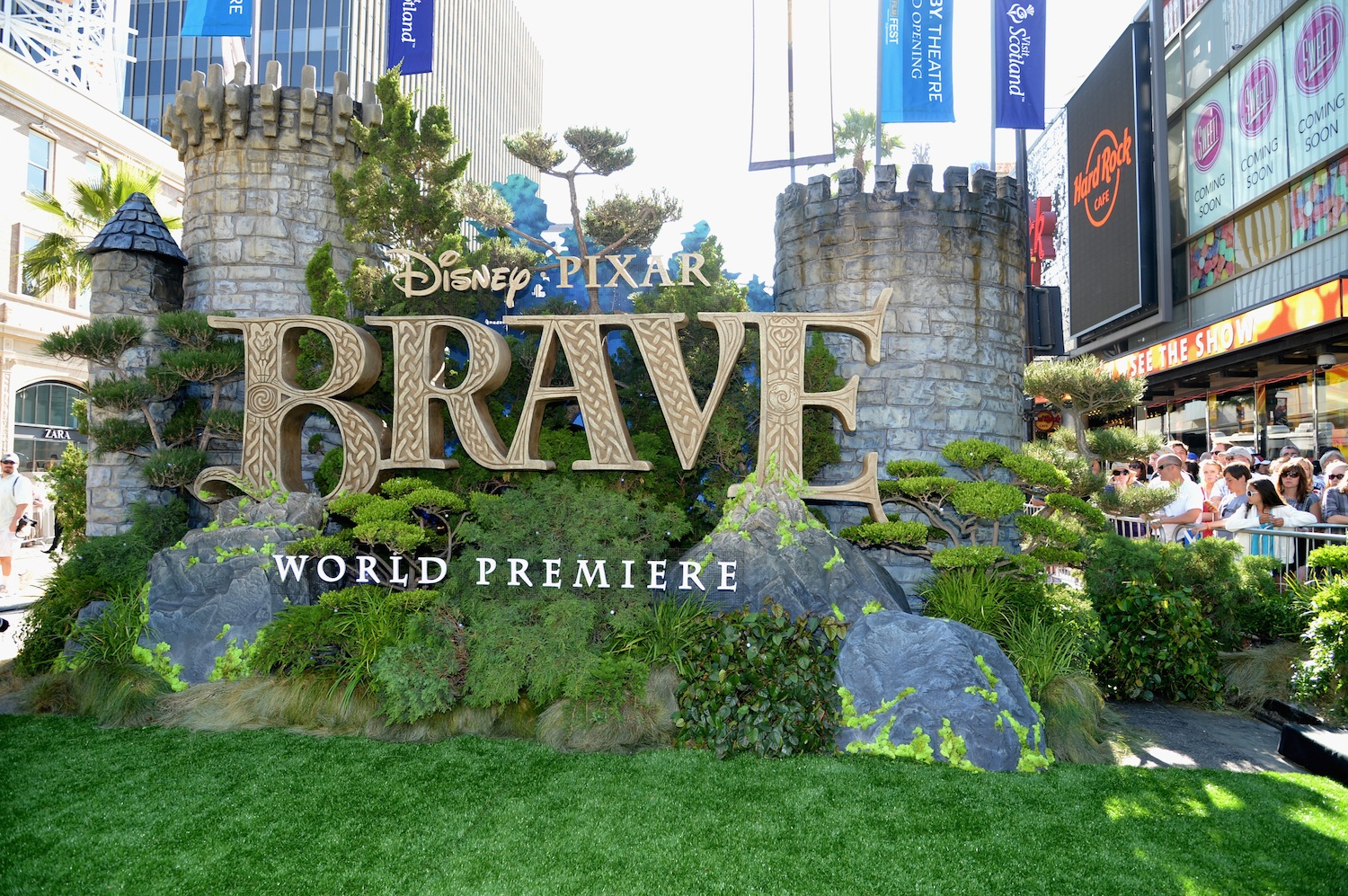 Photos From 'Brave' World Premiere At The Dolby Theatre
