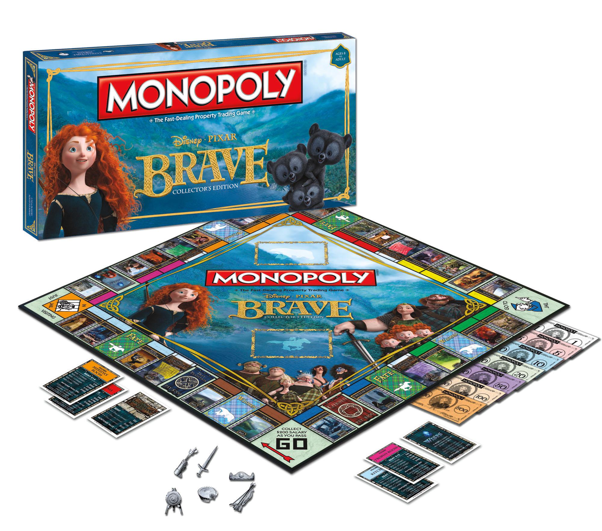 'Brave' Monopoly Rolls Onto Store Shelves