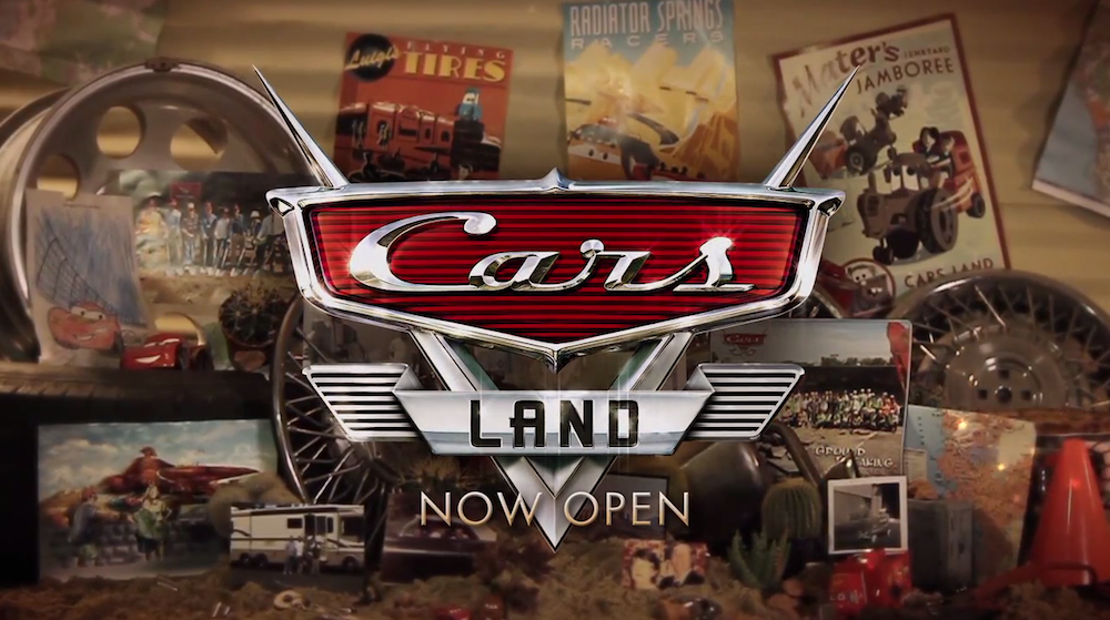 Watch: 13-Minute Doc Tells The Story Of Cars Land