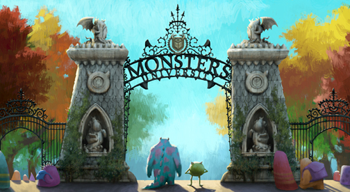 Watch: New 'Monsters University' Viral Ads Feature More Film Footage