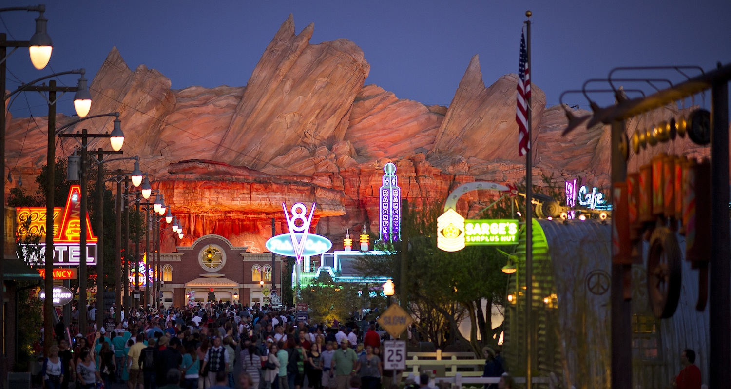 A Closer Look At 'Cars Land' Attractions
