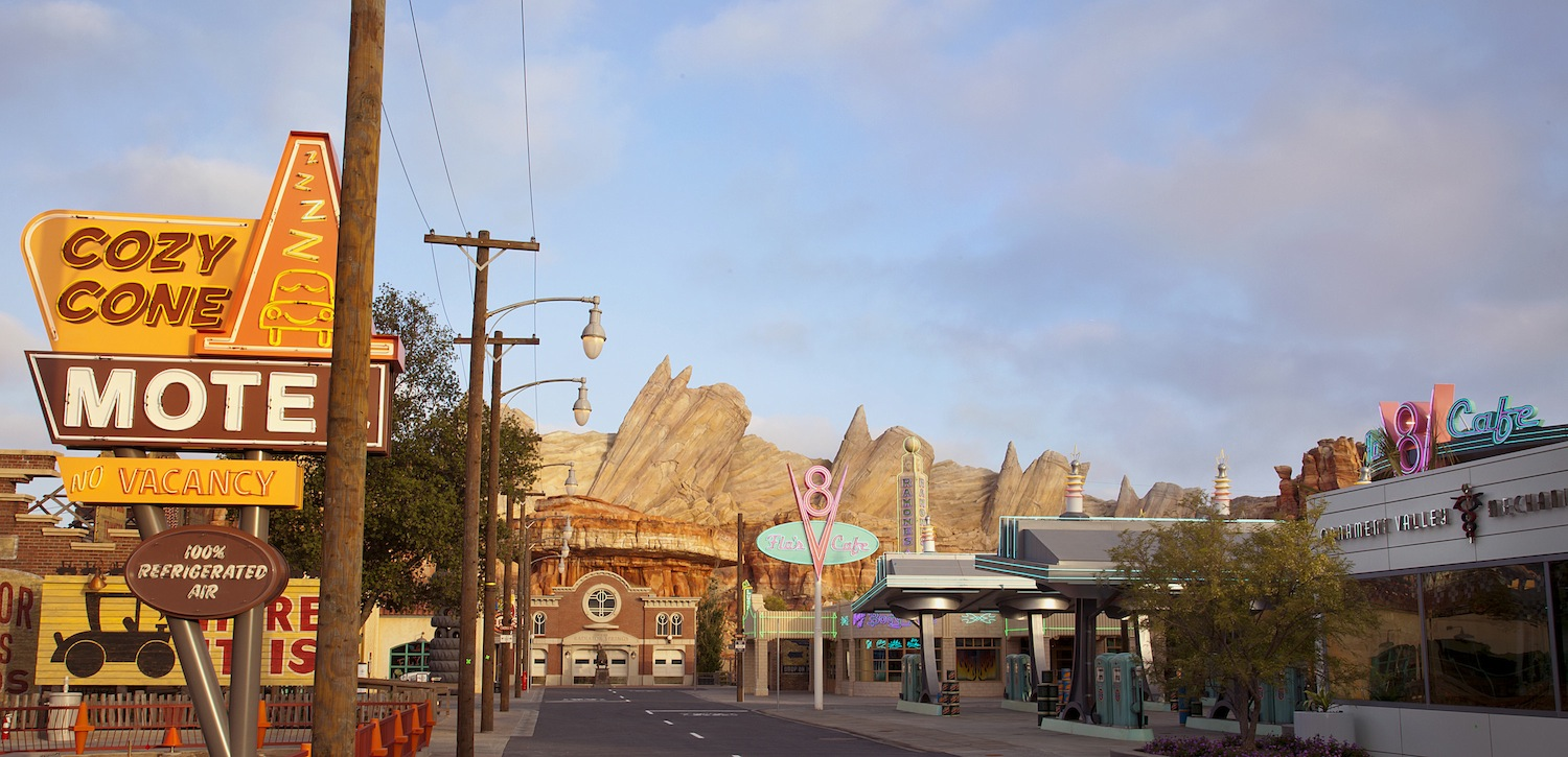 Cars Land Celebrates First Birthday