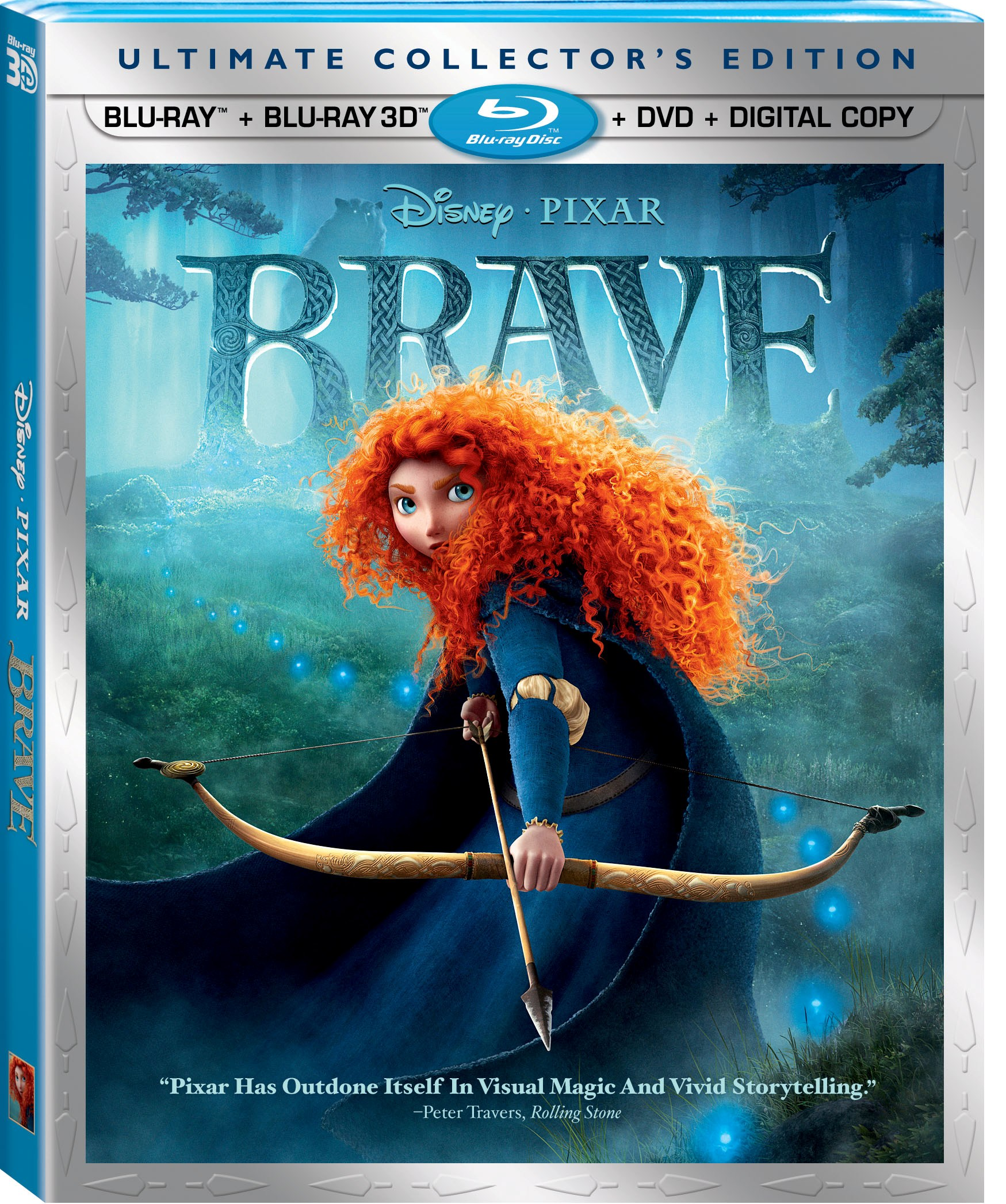 'Brave,' 'Pixar Shorts Vol 2' Blu-ray And DVD Now On Sale