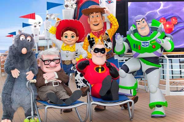 Pixar-Themed Disney Cruises Launch In September