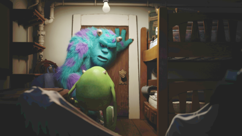New 'Monsters University' Images Showcase Mike and Sulley's Rivalry
