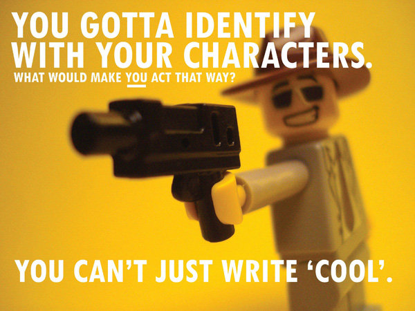 Awesome: Story Rules In Lego And Infographic Form