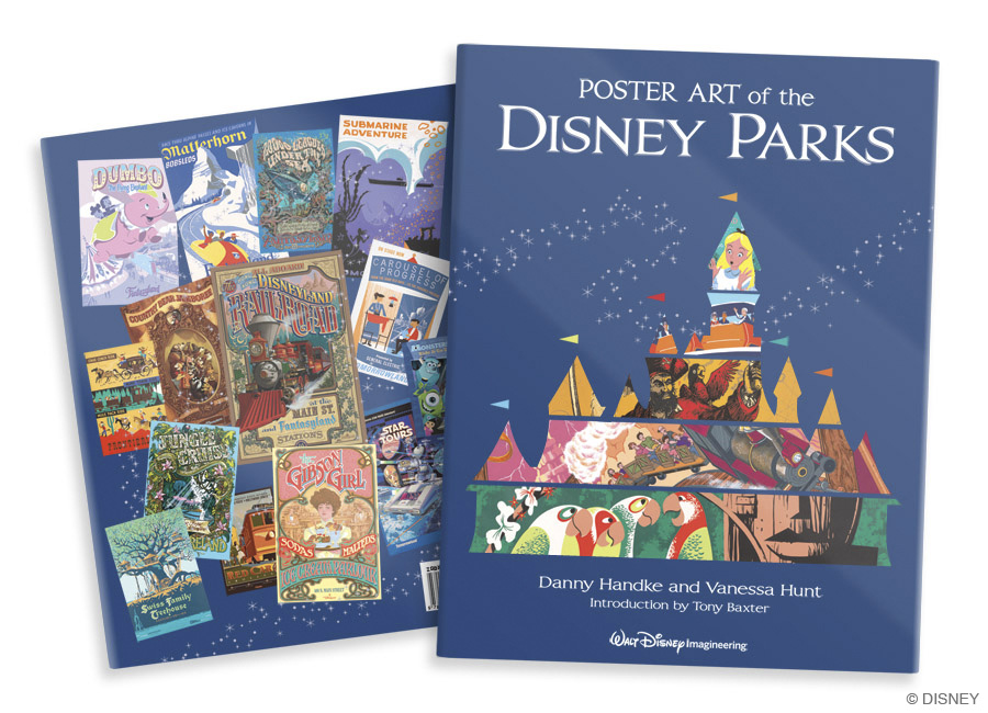 Book Review: Poster Art of the Disney Parks
