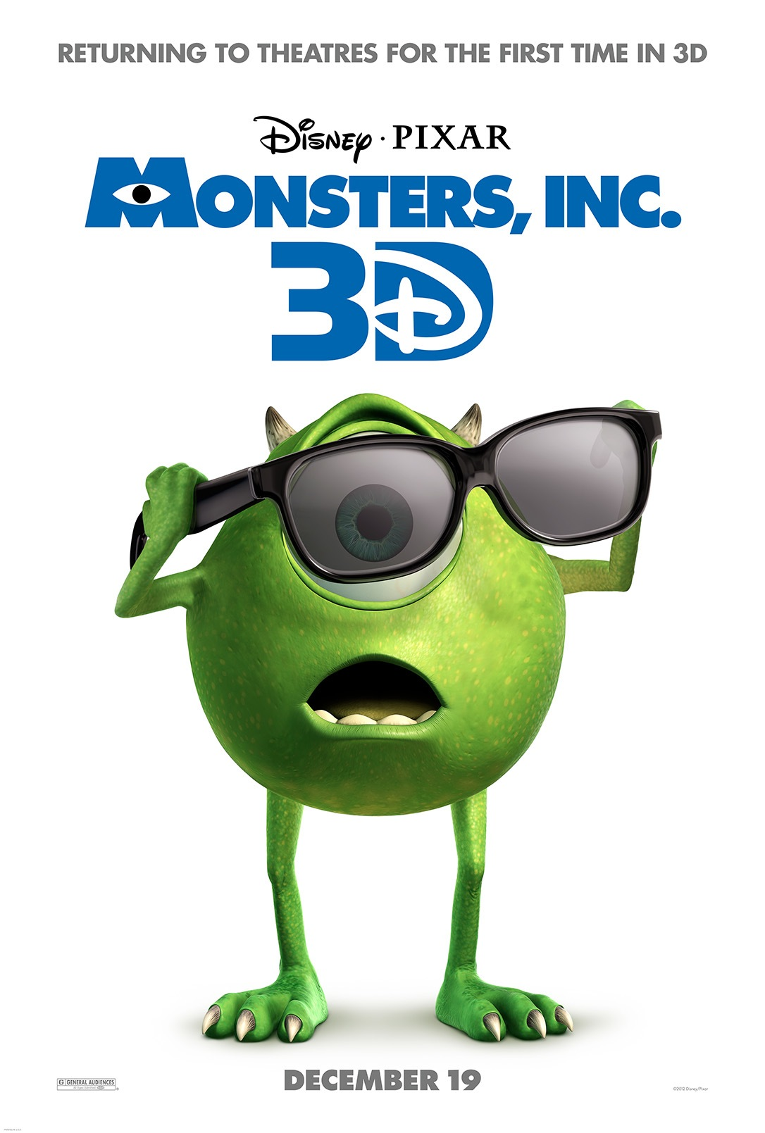 Watch: 'Monsters, Inc. 3D' Trailer