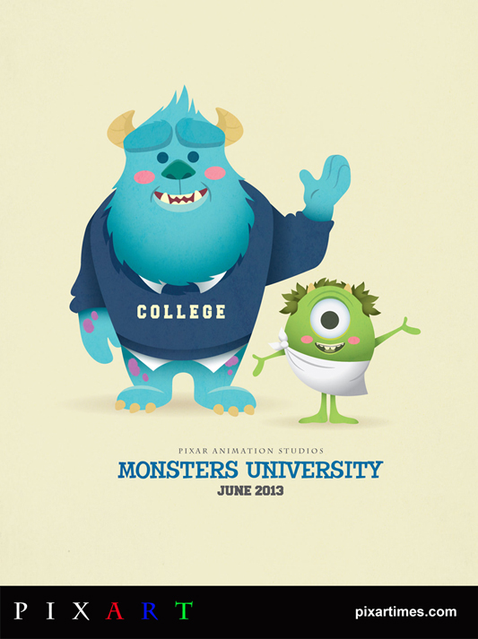 PixArt: September 2012 Feature – Monsters University
