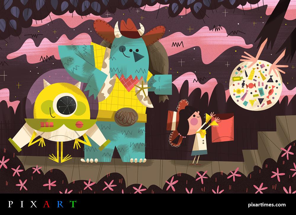 PixArt: October 2012 Feature – A Monstrous Halloween