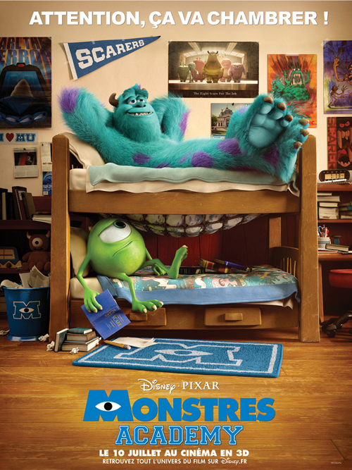International 'Monsters University' Poster Revealed