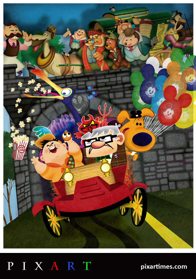 PixArt: November Feature II – Mr. Fredricksen's Wild Ride