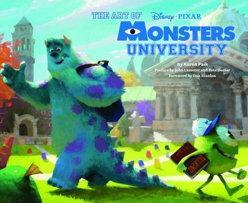 """The Art of Monsters University"" Cover Revealed"