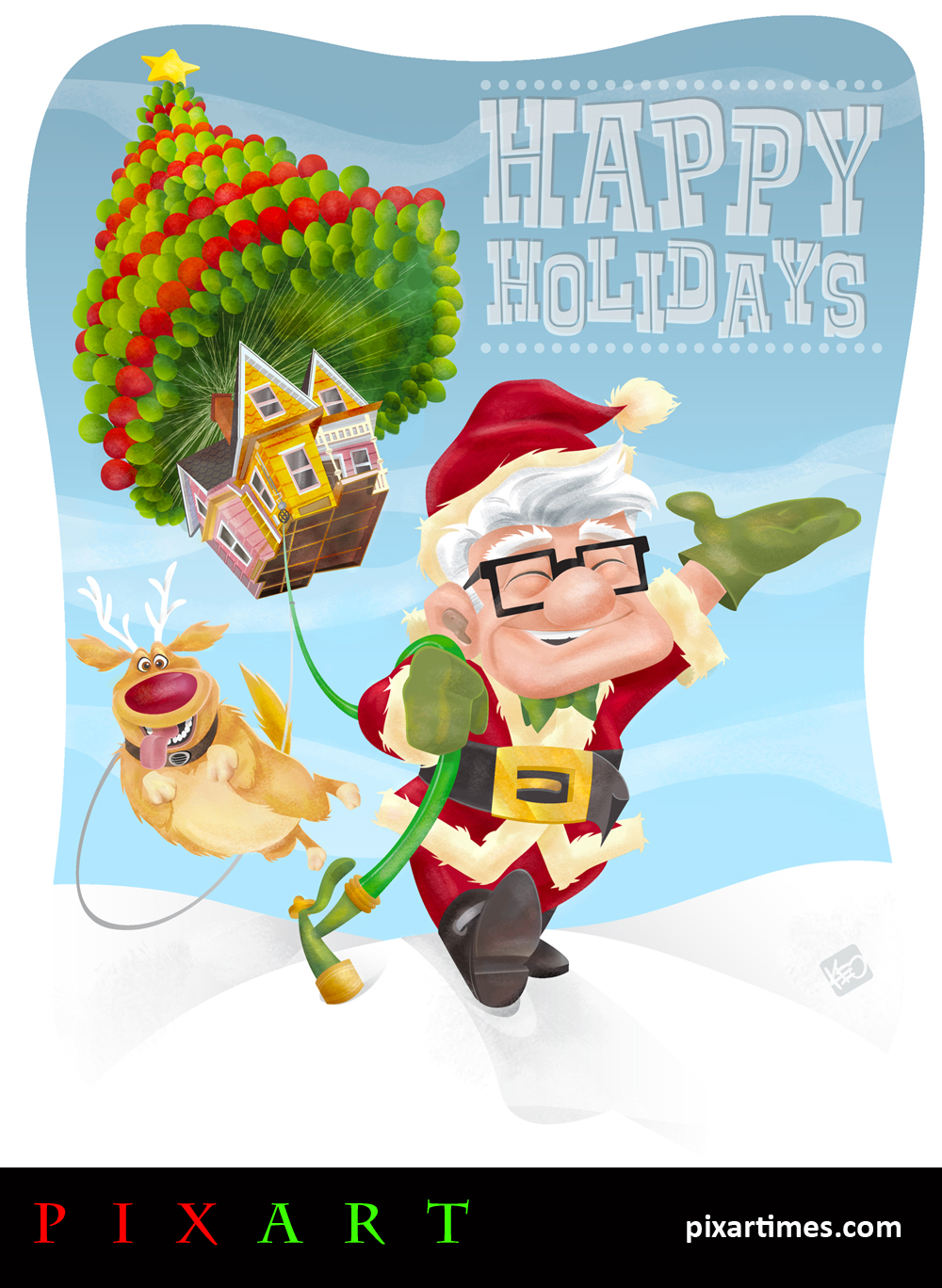PixArt: December Feature II – Carl Claus