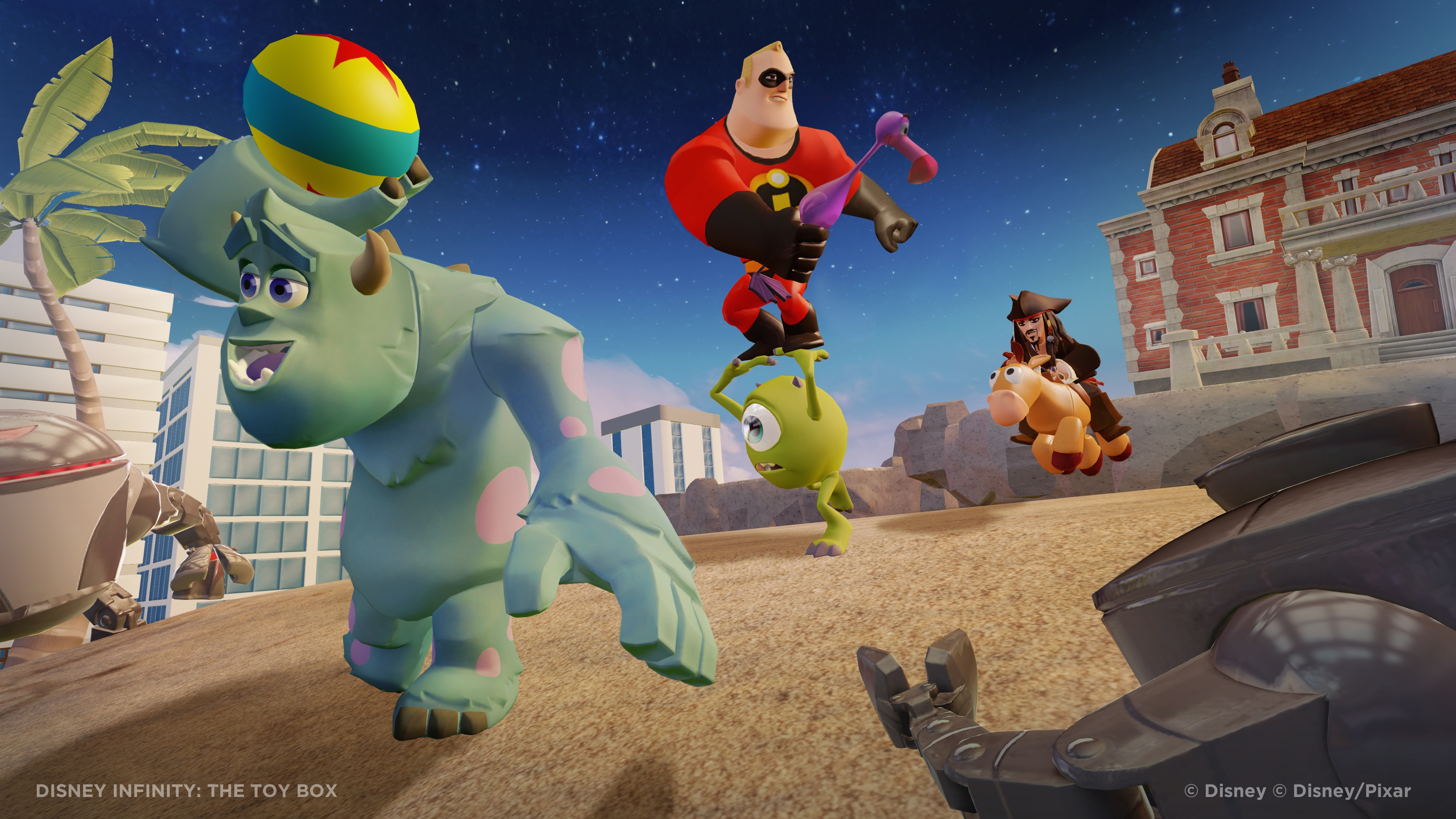 Ambitious 'Disney Infinity' Game Unveiled