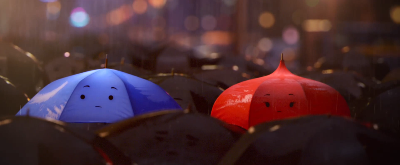 First Look: Pixar's New Short 'The Blue Umbrella' [Updated]