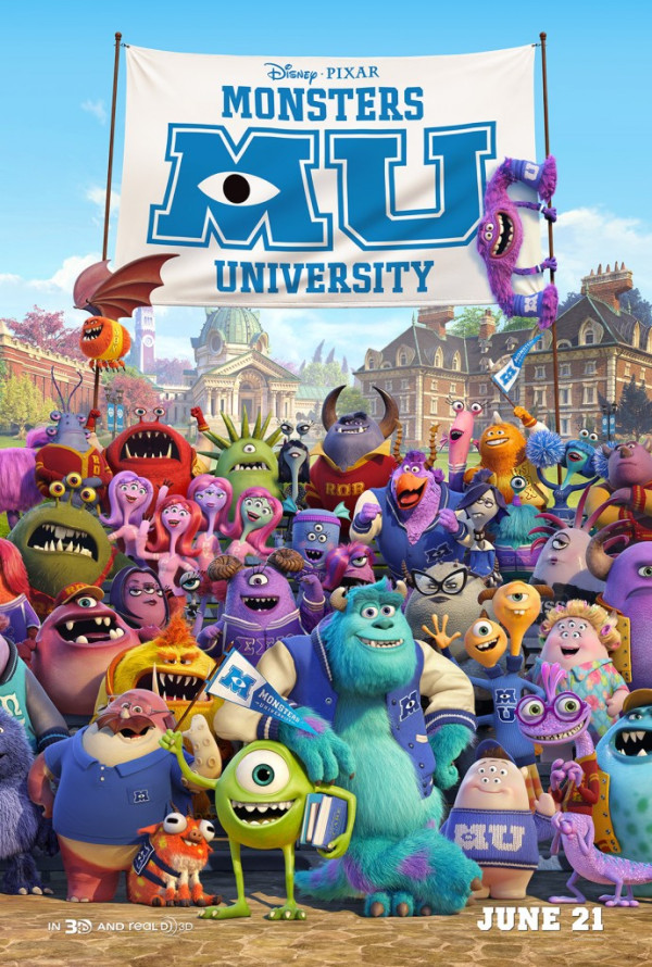 New 'Monsters University' Poster Is Packed With Monsters