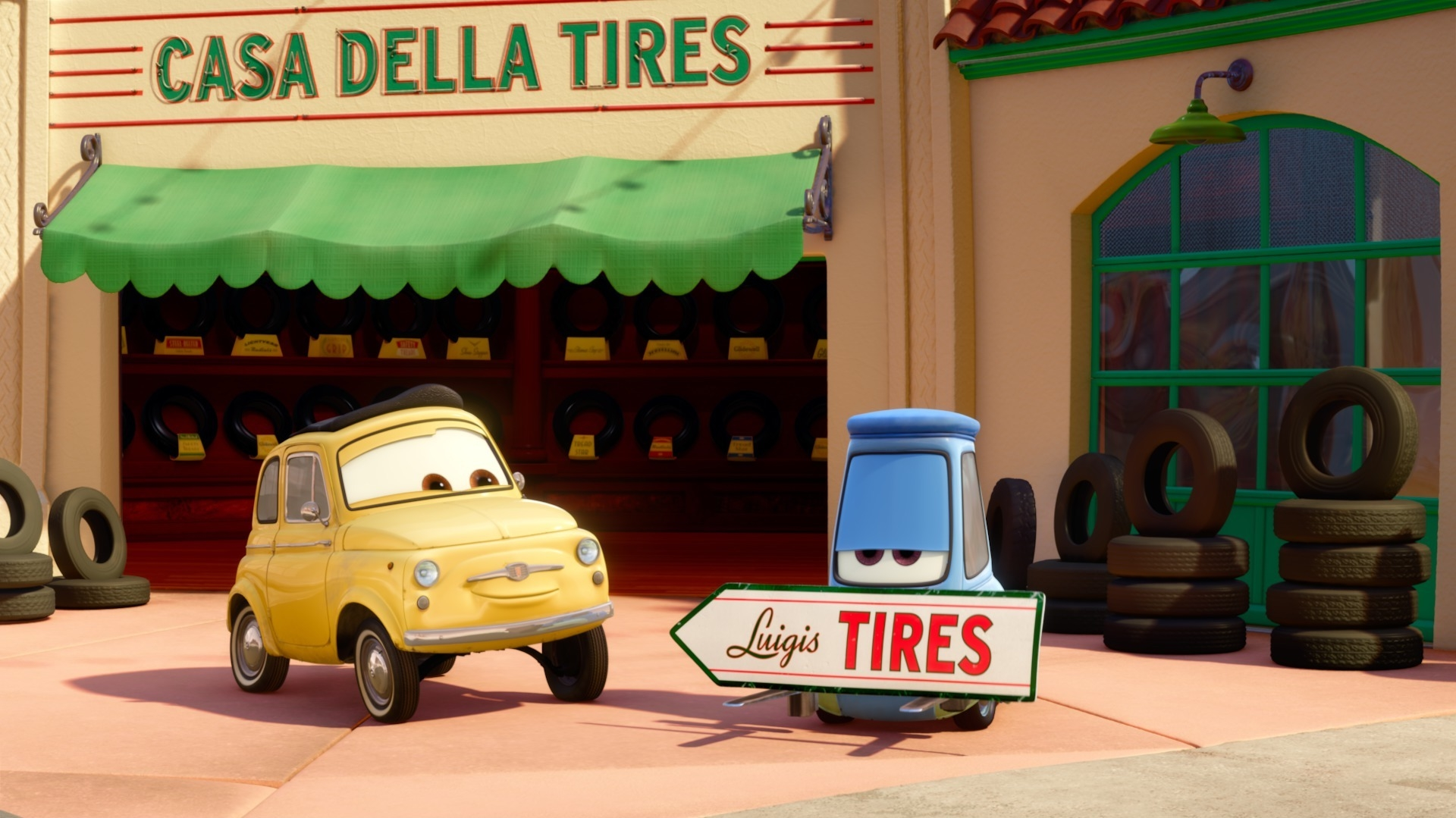 Three 'Cars' Shorty Shorts Debut Tonight On Disney Channel