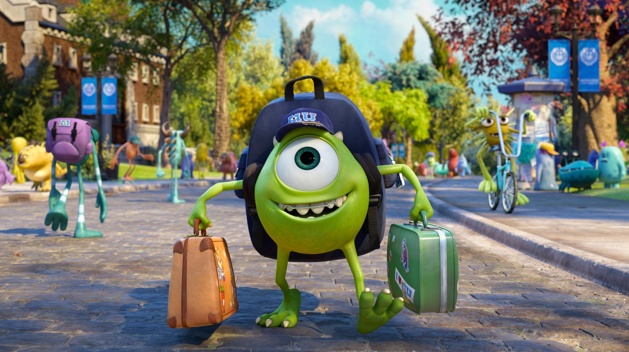 Watch: 'Monsters University' Japanese Trailer Reveals Much More