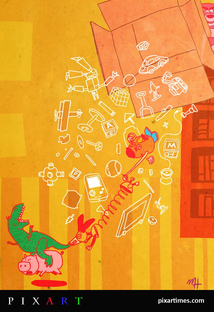 PixArt: April Feature I – Toy Box