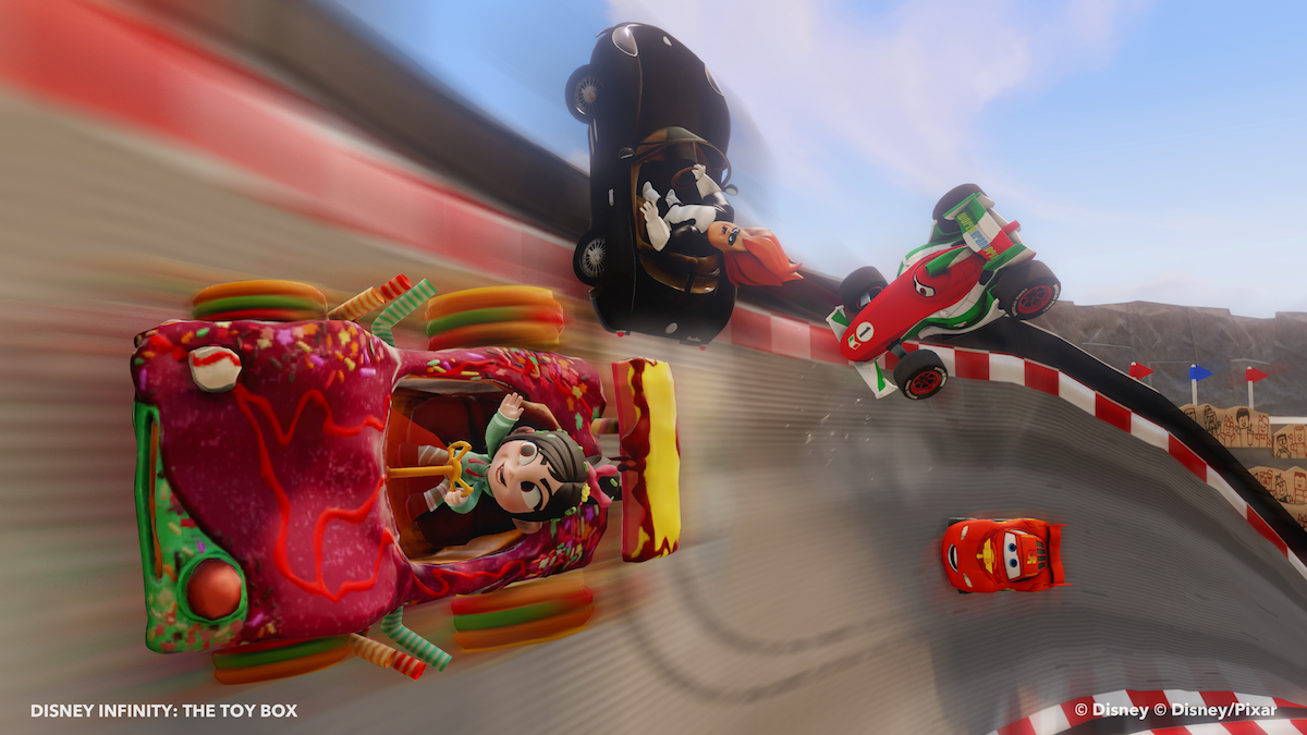 Watch: Build Your Own Racing Tracks In 'Disney Infinity'