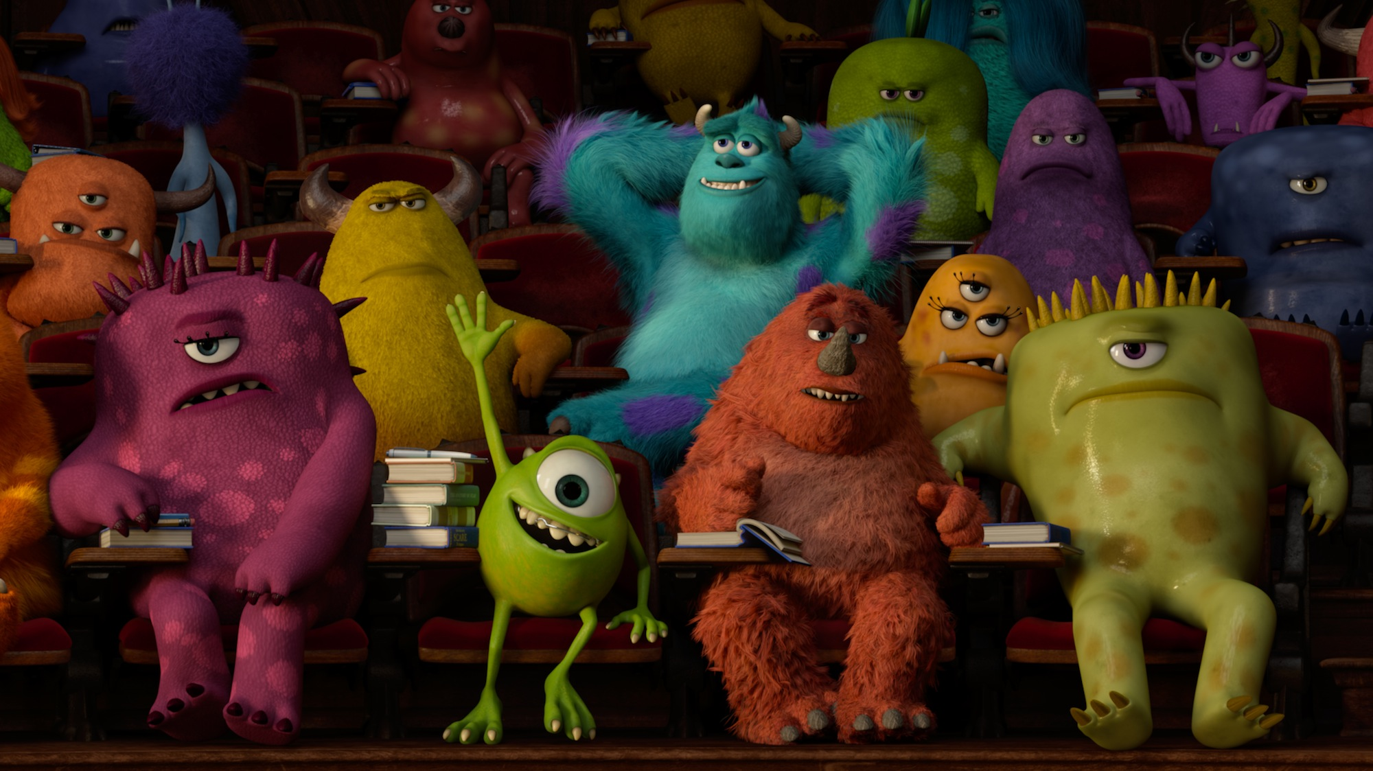 'Monsters University' Nominated For Animated Film BAFTA