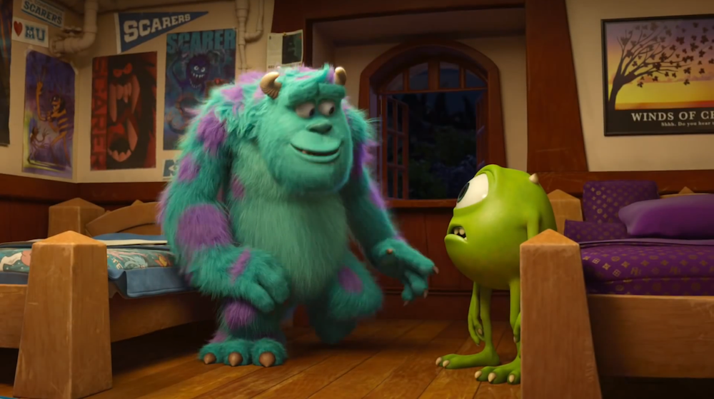 'Monsters University': The Easter Eggs – Pizza Planet Truck, 'The Good Dinosaur,' A113