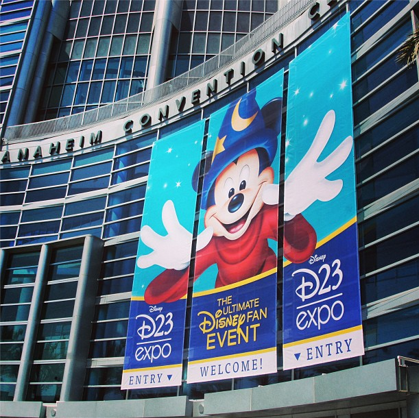 Anaheim Convention Center Gets Ready For D23 Expo
