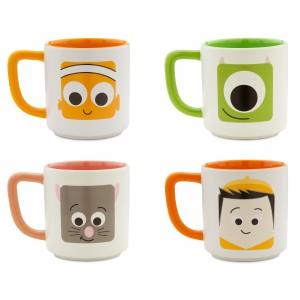 D23 Expo Disney:Pixar Products - Mug Set 1