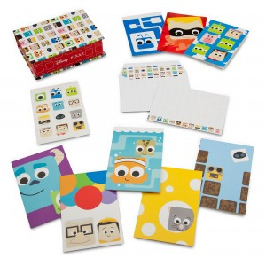 D23 Expo Disney:Pixar Products - Note Card Set