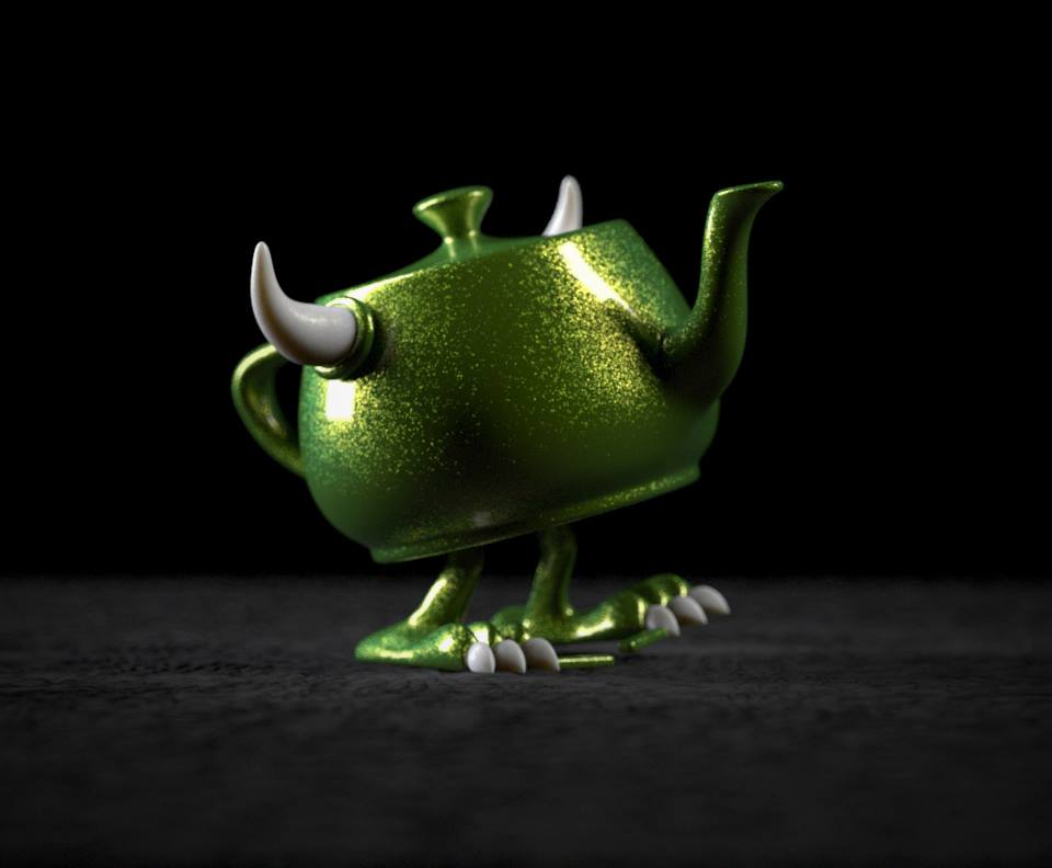Watch: A Look At Pixar's Collectible RenderMan Teapots