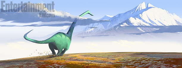 D23 Expo: New 'The Good Dinosaur' Details, Neil Patrick Harris, John Lithgow, Bill Hader, And Judy Greer Join Cast