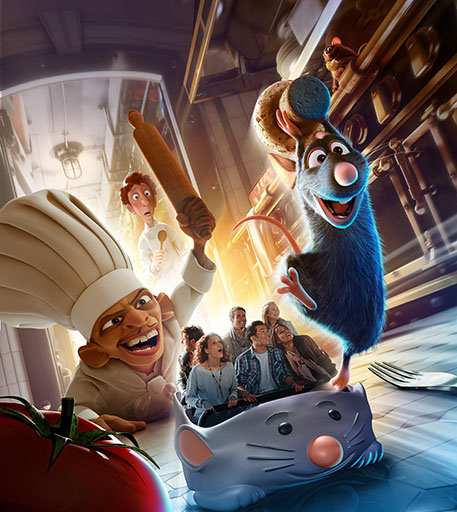 'Ratatouille' Ride Opens July 10th In Disneyland Paris