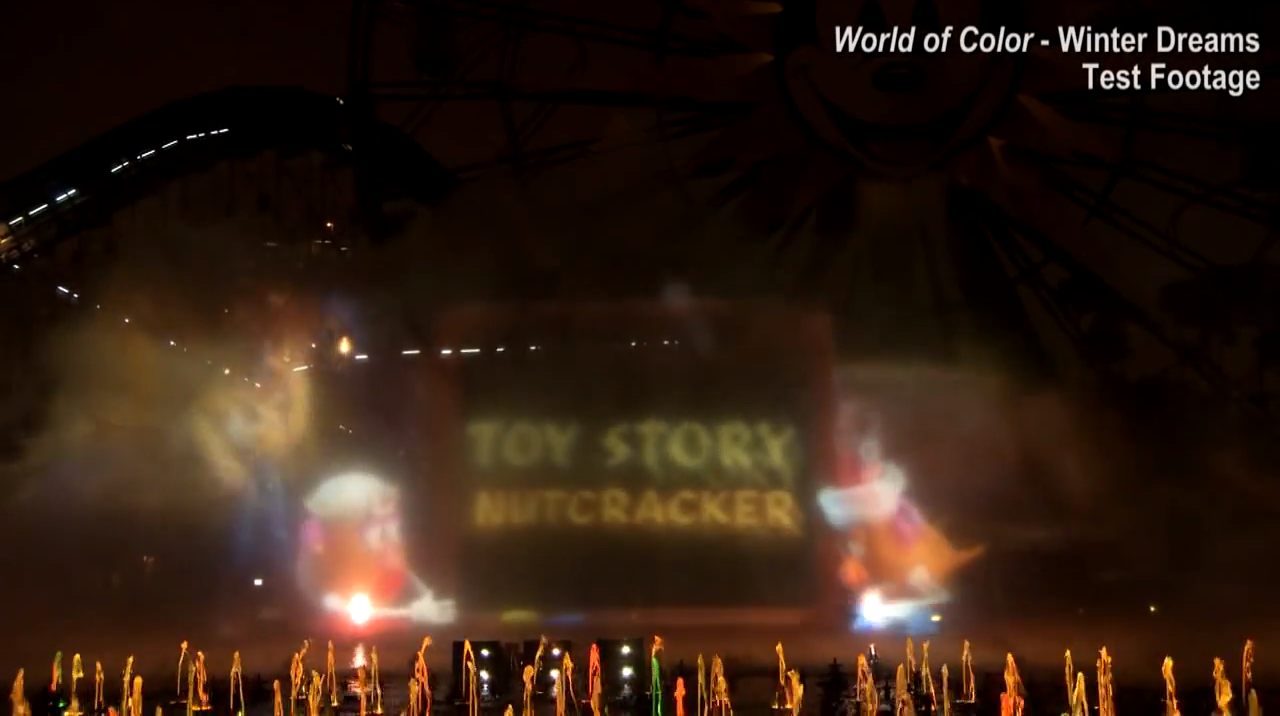 Pixar Creates 'Toy Story Nutcracker' Short For Holiday 'World of Color' Show At Disney California Adventure