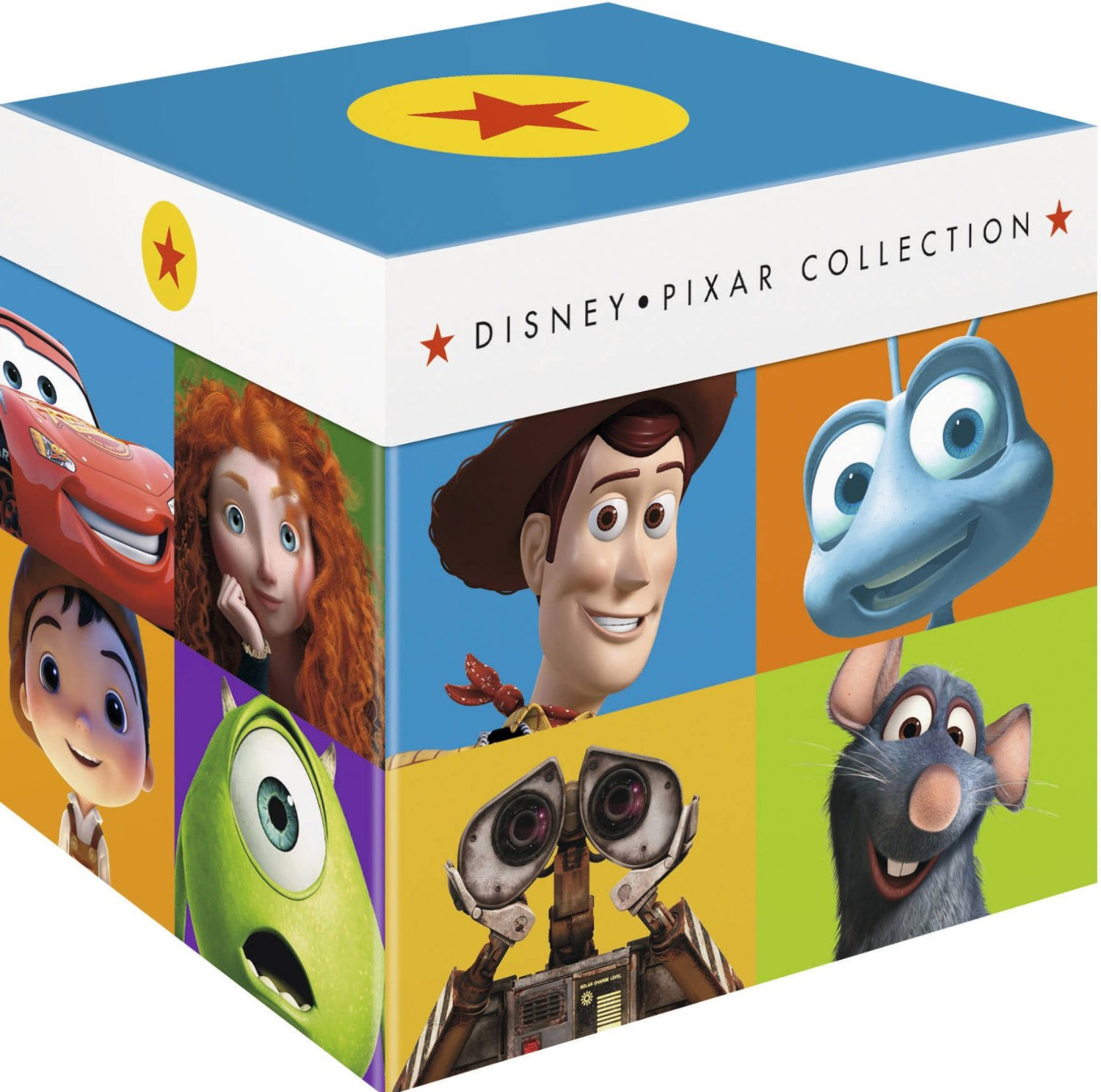 Gorgeous 22-Disc Blu-ray Box Set Collects Every Pixar Film