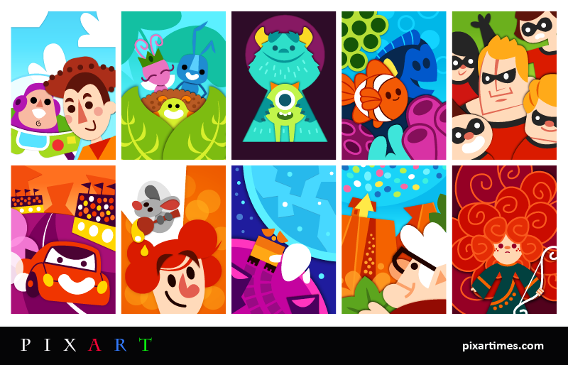 PixArt: November Feature I – All Together Now