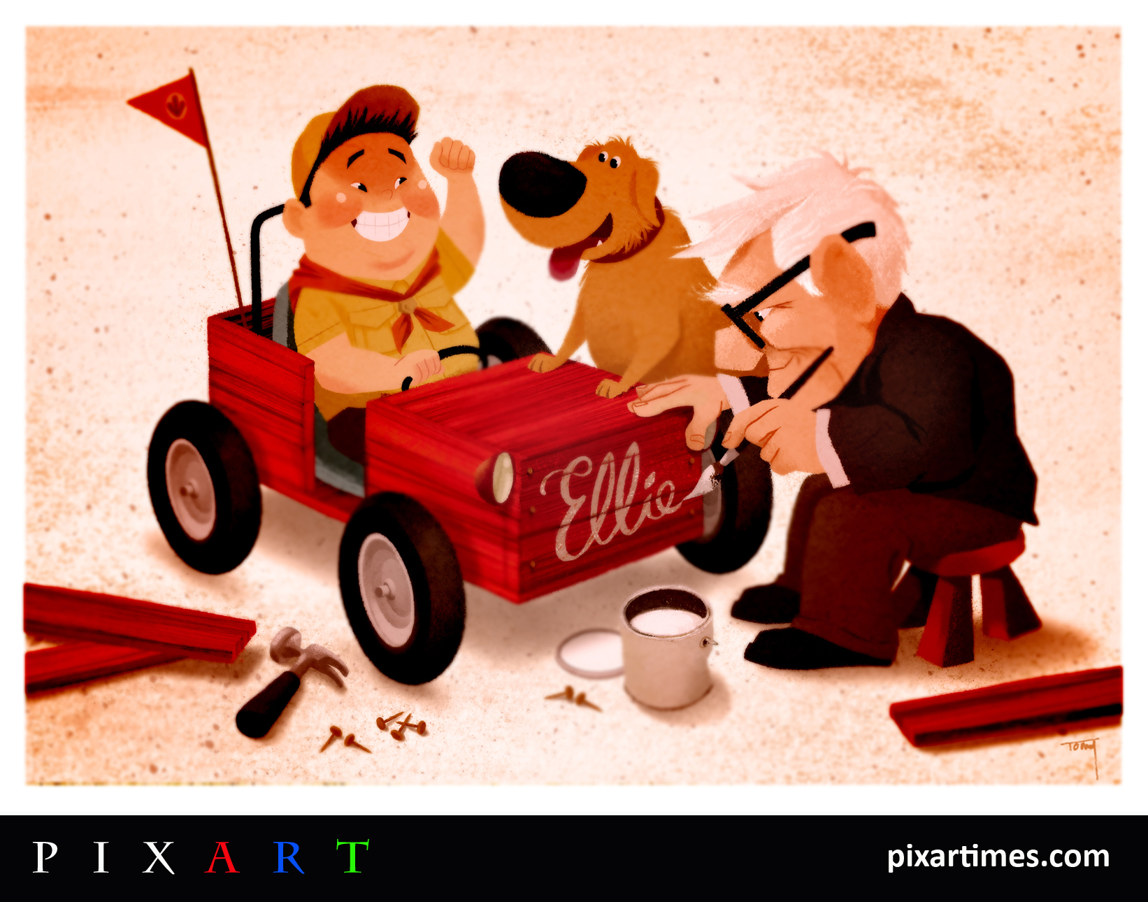 Pixart: January Feature – Carl and Russell