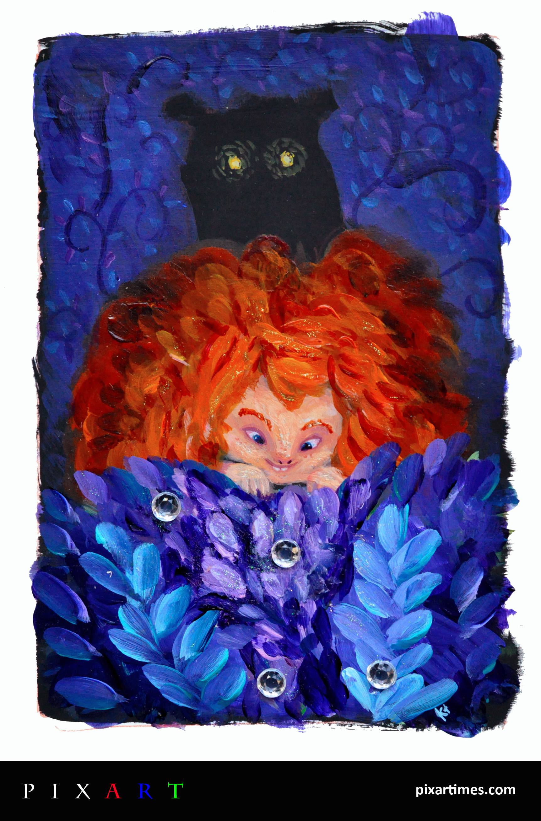 PixArt: May Feature II – Merida Painting
