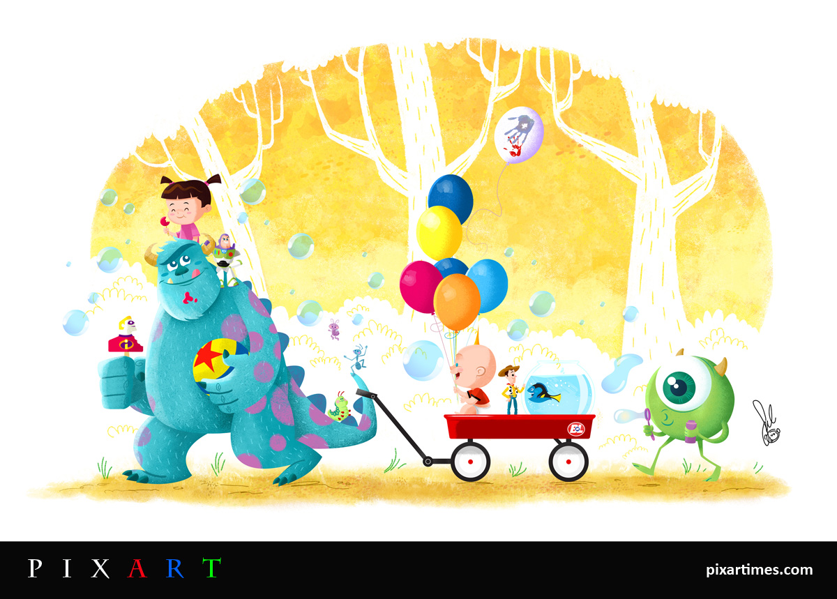 PixArt: May Feature I – Pixar Tribute