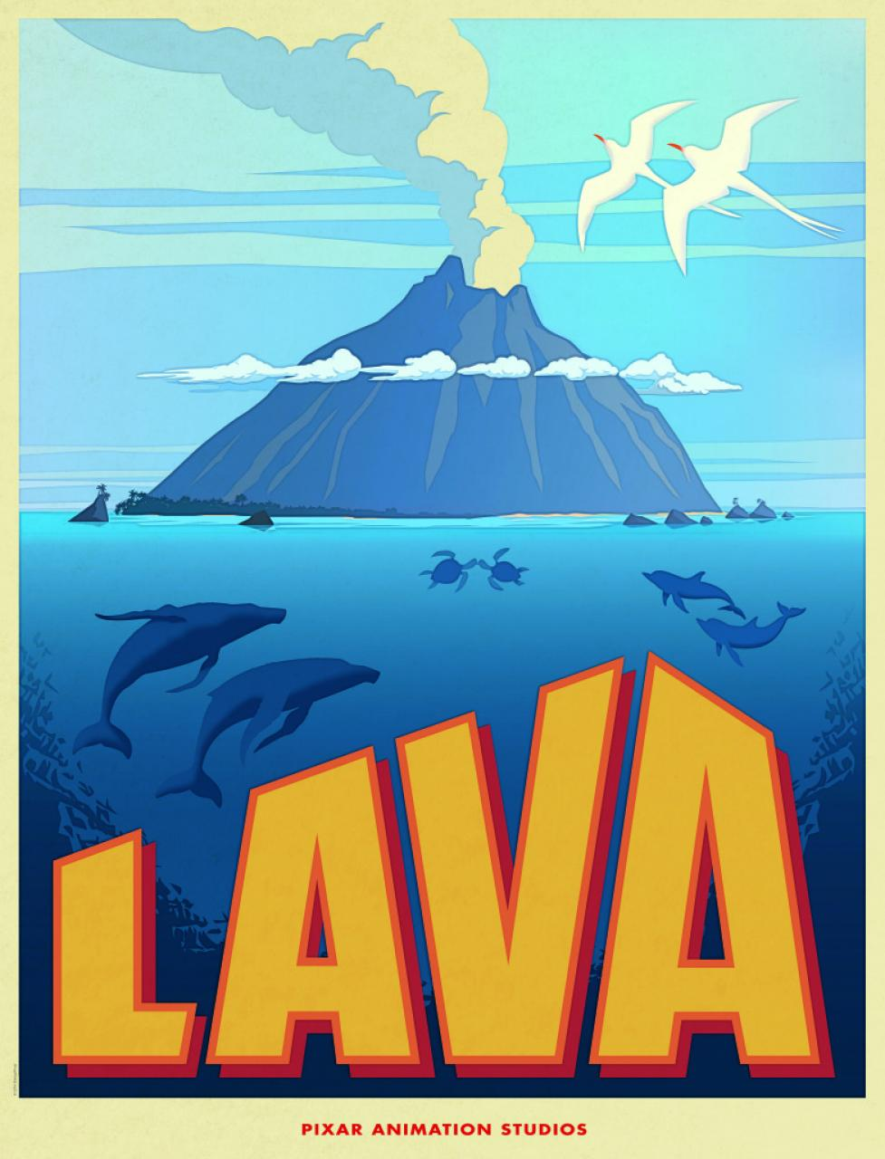Pixar Reveals 'Lava,' A New Short Spanning Millions Of Years