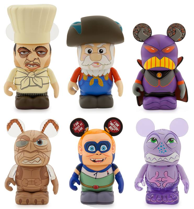 New Pixar Villains Vinylmations Debut At Comic Con [Updated]