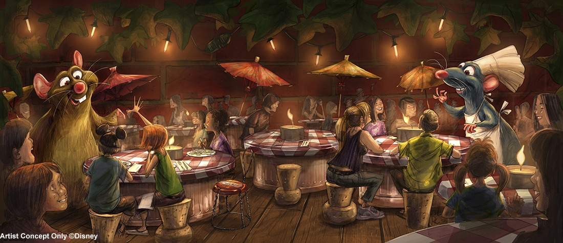 The Story Of The New 'Ratatouille' Ride And Restaurant